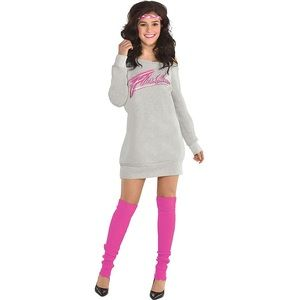 Flashdance Costume 💗 Totally 80's awesome!